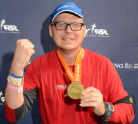 Finisher Foto vom New York Marathon